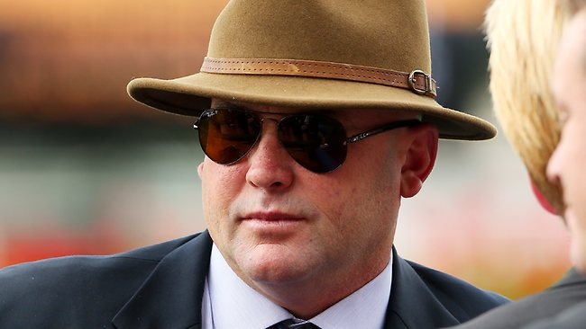 Peter Moody has scoffed at suggestions Black Caviar will be challenged in the TJ Smith Stakes. Picture: Mark Evans