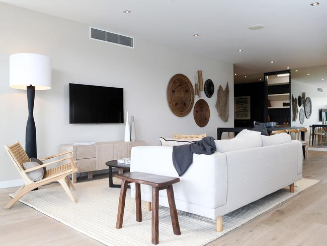 """Older apartments are competing with new stock with """"all the bells and whistles"""". Picture: Tara Croser."""