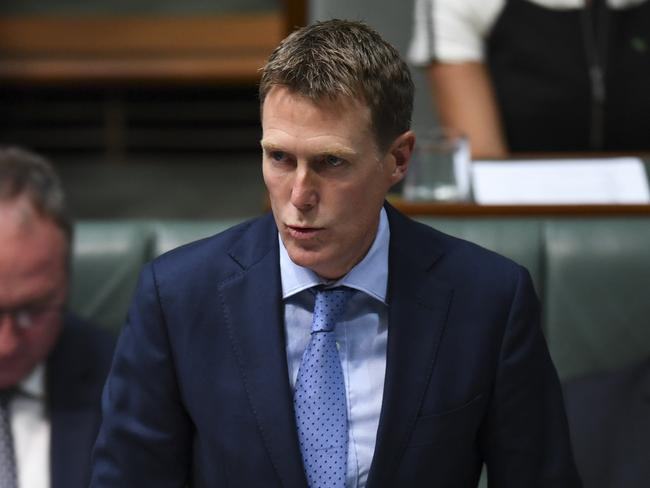 Attorney-General Christian Porter. Picture: AAP Image/Lukas Coch