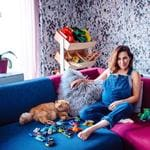 "Zoe Foster Blake leaves the outrageous pregnancy portraits to Beyonce... ""When I demanded a Dior gown, a golden pond and a dozen ballerinas for my pregnancy portrait, Mario Testino said it'd be fine. But then my mate @mrswhitephotos said SHE'D do it, AND I could have all my favourite toys in the photo. Sulaaamm dunk."" Picture: Zoe Foster Blake / Instagram"