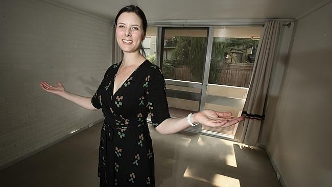 Letitia Hatton said there was room for improvement at her new apartment in Thornbury.