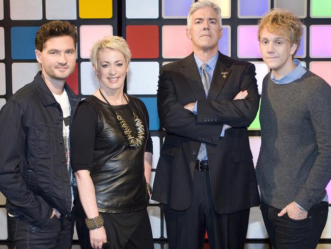 Thomas starred with Charlie Pickering, Amanda Keller and Shaun Micallef on  <i>Talkin' 'Bout Your Generation</i>. Picture: Supplied