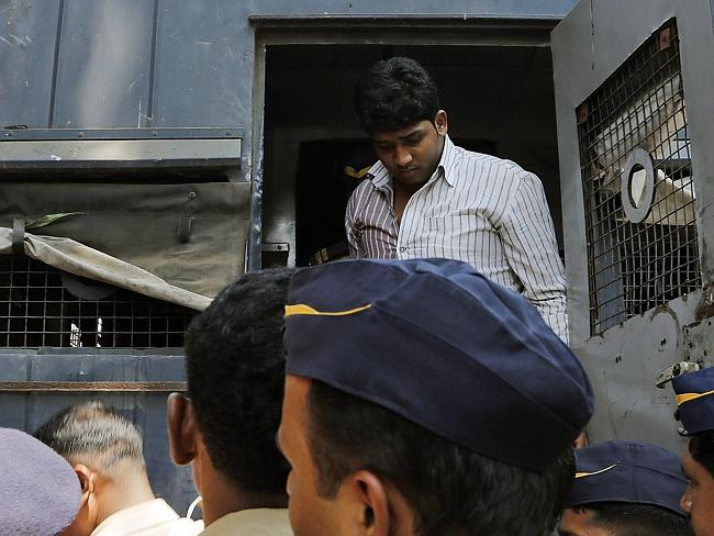 Facing justice ... another of the rapists. The Mumbai court is expected to sentence the men on Friday.