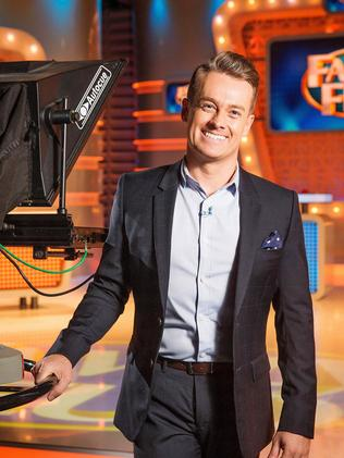 Family Feuds Grant Denyer is just one of a number of Channel 10 personalities nominated for a Logie. Picture: Mark Stewart