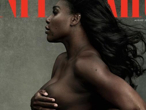 Serena Williams. Picture: Vanity Fair/Annie Leibovitz