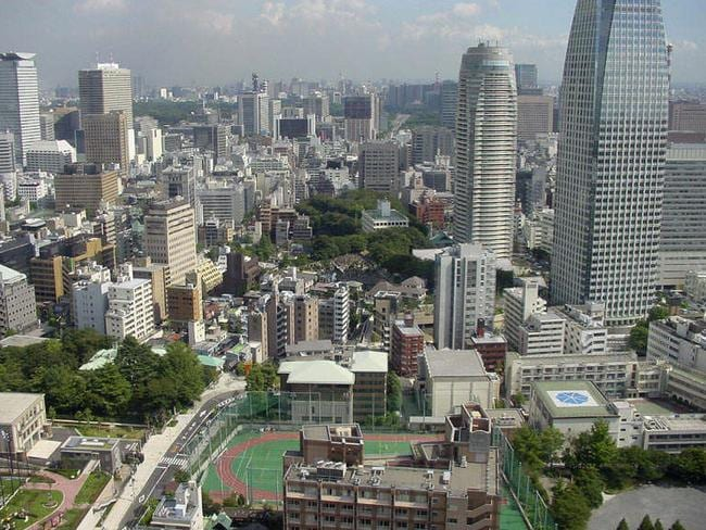 Our new best buddies … Australia will sign a historic free trade agreement with Japan today. The city of Tokyo is pictured.