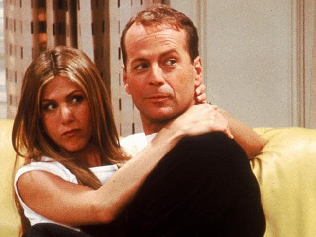 Actor Bruce Willis appeared on Friends after losing a bet to Matthew Perry. Picture: New Limited
