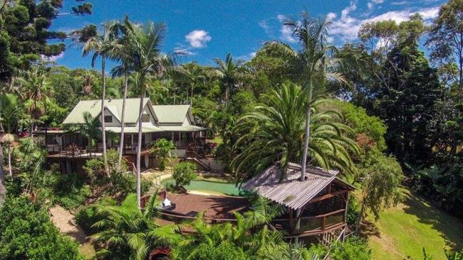 The sprawling Byron Bay estate is being offered to market with offers above $1.5 million. Picture: Byron Bay Property Sales