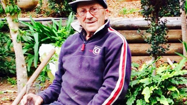 Tannous Daher, 82, was gardening in a front yard when the incident took place. Source: Supplied.