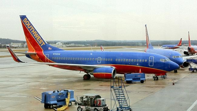 Passengers questioned why the Southwest Airlines plane was even trying to land in the first place. (File image.)