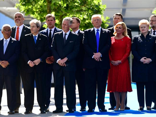 Leaders have descended on Brussels, Belgium for the NATO summit. Picture: AFP