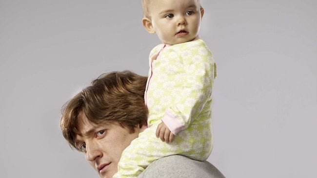Lucas Neff stars in Raising Hope. Picture: Supplied