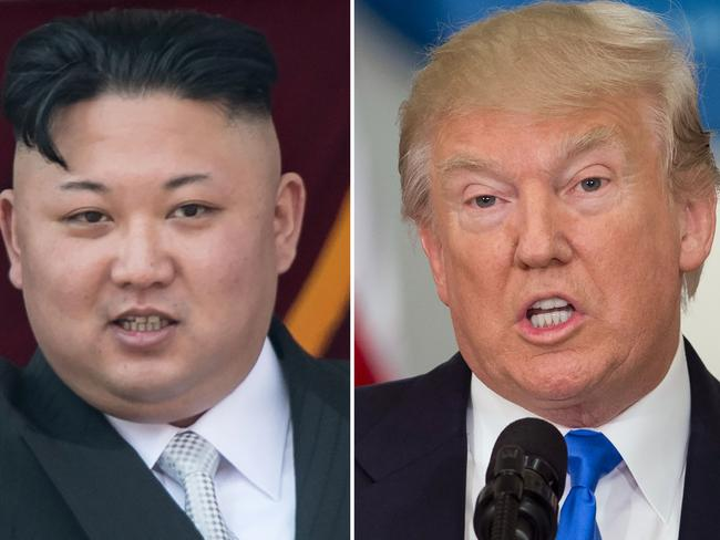 North Korean leader Kim Jong-un and US President Donald Trump need to end the fiery talk, UN Secretary-General Antonio Guterres says. Picture: AFP