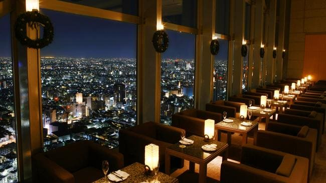 Bar at the Park Hyatt Tokyo. Picture: Hyatt Hotels