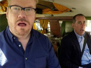 Jim Gaffigan with Jerry Seinfeld