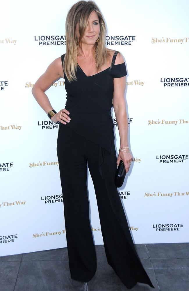 Jennifer Aniston at the premiere of She's Funny That Way.