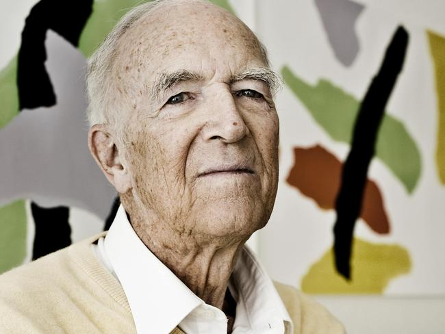 Danish architect Jorn Utzon was the architect of the Sydney Opera House and died 29/11/2008 aged 90. Picture: AFP.