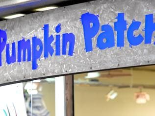 Pumpkin Patch store in Melbourne, Monday. Nov. 7, 2016. Pumpkin Patch's receivers have taken the razor to the failed children's wear retailer's Australian stores with plans to close 27 stores nationwide, laying off up to 145 staff. (AAP Image/Tracey Nearmy) NO ARCHIVING, EDITORIAL USE ONLY