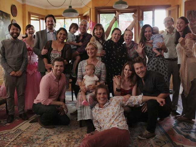 Saying goodbye forever? ... the cast of Offspring. Picture: Supplied