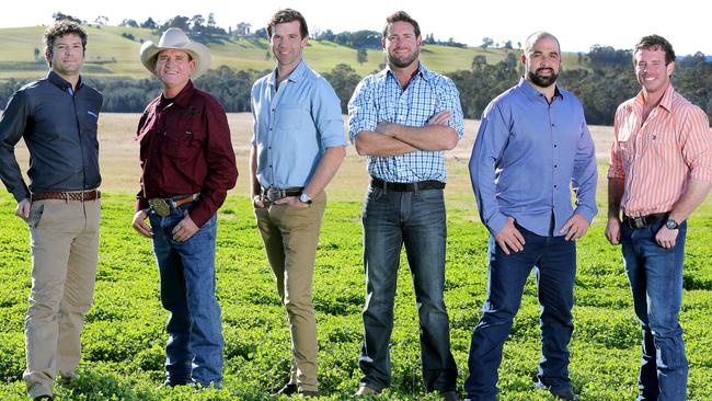 Back on the horse ... six new blokes looking for love on Farmer Wants a Wife.
