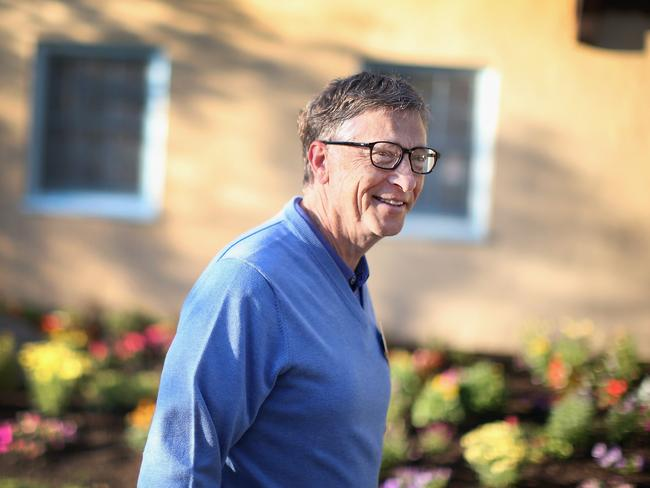 Bill Gates spends time in seclusion to recharge his creative juices.