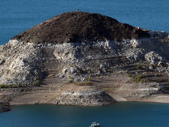 This is Little Boulder Island. They might have to change it to Big Boulder Island. Ethan Miller/Getty Images/AFP