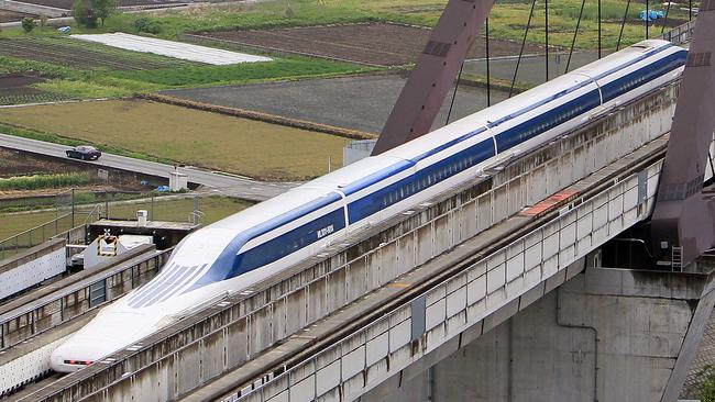 Japan's reliable railway systems are the envy of much of the world. Picture: Junko Kimura/Getty Images