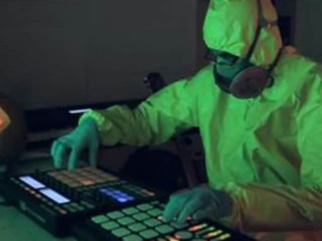 MetroGnome does a wicked remix of the Breaking Bad theme tune — in costume.