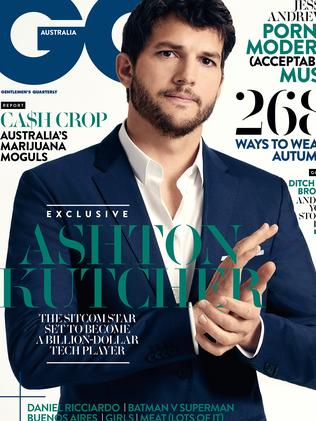 The March/April issue of GQ magazine.