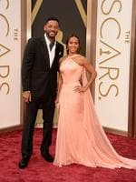 Actors Will Smith and Jada Pinkett Smith on the red carpet at the Oscars 2014. Picture: Getty