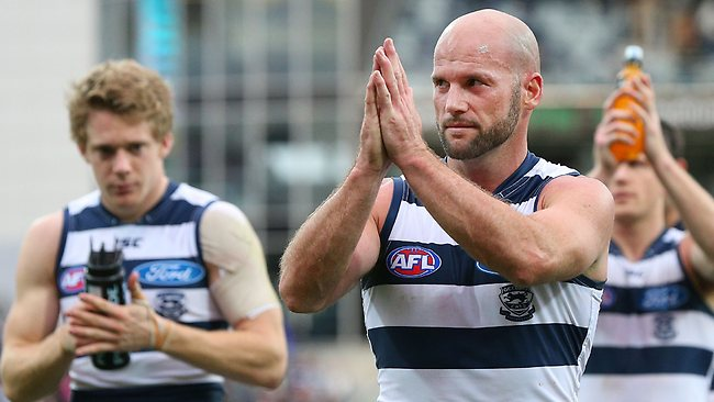Paul Chapman started as the sub in Geelong's first final. Will he get a start against Port?