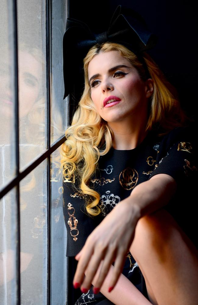 """People love having their heartstrings tugged"" ... UK pop singer Paloma Faith is number one in ARIA singles chart. Picture: Jeremy Piper"