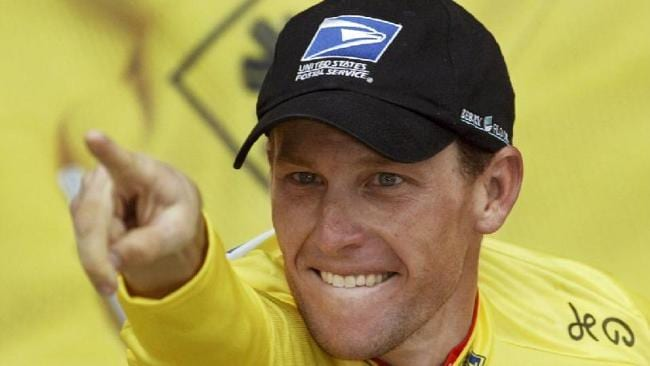 Lance Armstrong, who features in TV show Catalyst Picture: Supplied