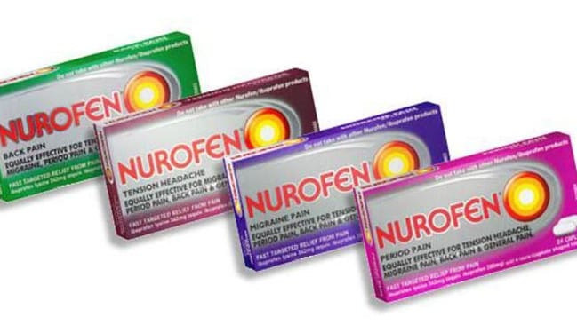 Nurofen was slapped with costs on top of an increased fine for misleading claims about its products.