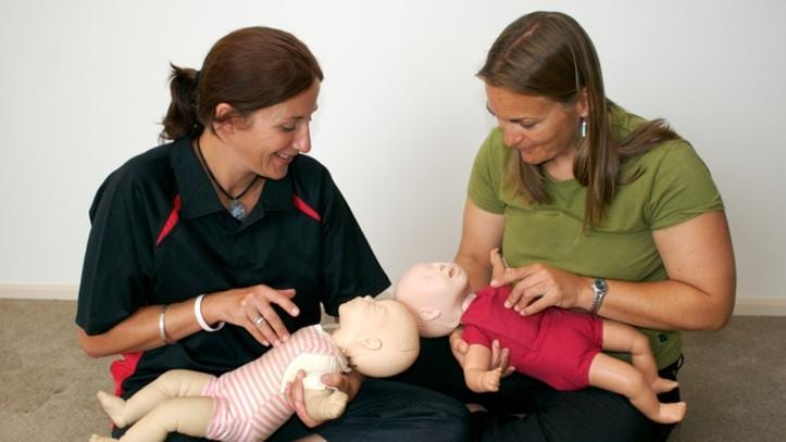 All staff in family daycare, and at least one carer in each long daycare centre, must be trained in first aid, anaphylaxis and asthma management. Picture: iStock