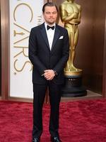 Leonardo DiCaprioon the red carpet at the Oscars 2014. Picture: AP