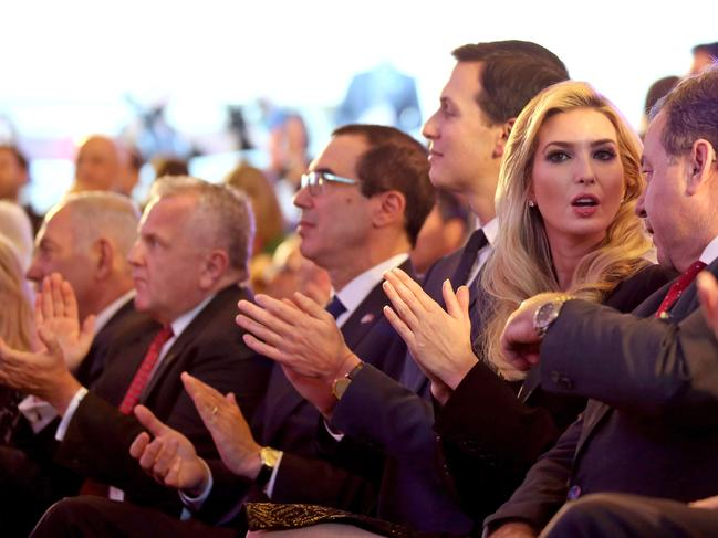 'First daughter' Ivanka Trump is in Jerusalem for the occasion. Picture: AFP