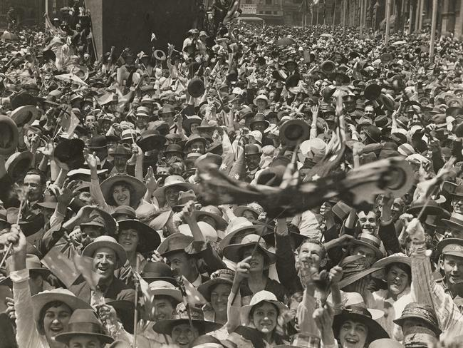 Ww1 end date in Sydney