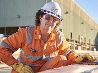 Jacqui McGill OLYMPIC DAM - Jacqui McGill, Asset President of Olympic Dam, BHP Billiton. Copper, gold, uranium mine in South Australia. 24 May 2016 Picture: Aaron Bunch/BHP Billiton