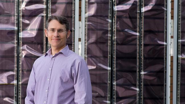 Printed solar panels have been developed by Professor Paul Dastoor from The University of Newcastle.