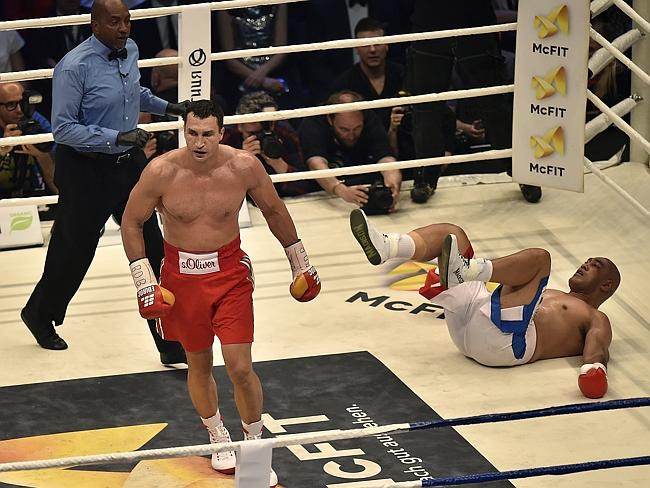 Klitschko proves he is far too good.