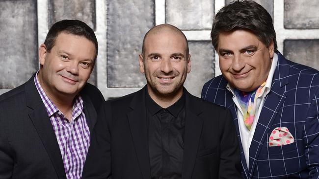 Tough trio ... MasterChef Australia judges Gary Mehigan, George Calombaris and Matt Preston.