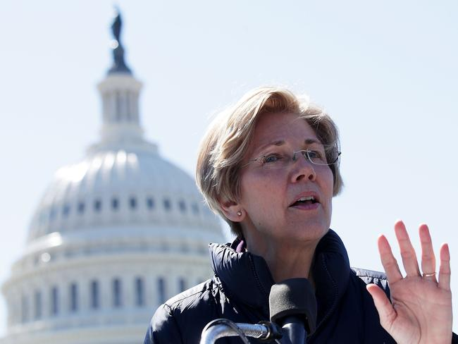 Democratic Senator Elizabeth Warren has been vocal in her criticism of the Republican health care bill. Picture: Alex Wong/Getty Images/AFP