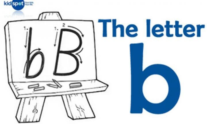 Handwriting: The letter b