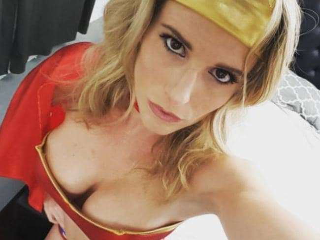 Porn star Cory Chase is not a fan of Ted Cruz. Picture: Instagram/corychasexxx