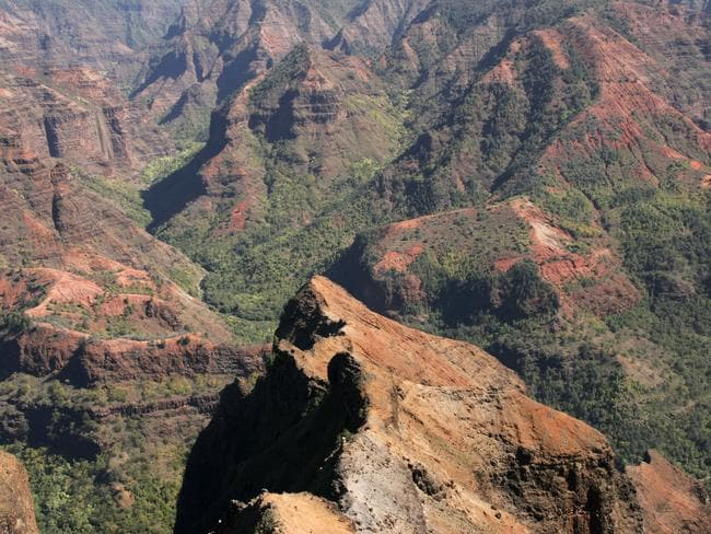 Not surprisingly Waimea Canyon is known as the Grand Canyon of the Pacific. Picture: Mike Fanous