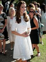 Duchess of Cambridge during her visit to Bear Cottage. Picture Gregg Porteous