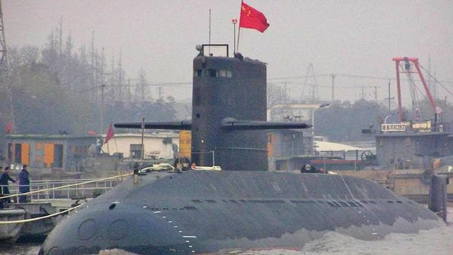 China's submarines will be equipped with a powerful on-board forecasting system.