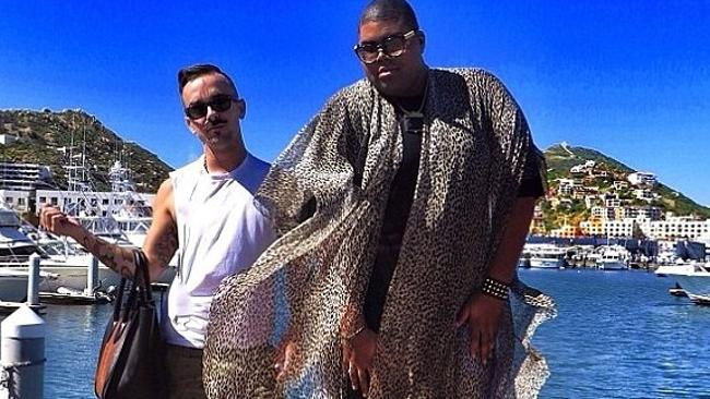 EJ. Johnson, Magic Johnson's son, features in the series. Picture: The Rich Kids of Instagram