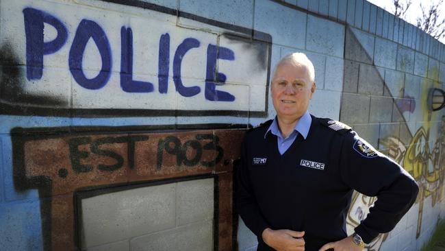 Gosnells officer-in-charge Senior Sergeant Ray Thompson.